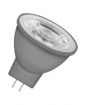 OSRAM LED spuldze MR11 GU4 2.9W / 2700K / Silti balta / 4058075813434 :: MR16 / G5.3  - 12V