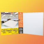 SUPERAKCIJA!!! LED Panelis 40W 3650 lumen ar barošanas bloku VISIONAL / Nemirgo / LED gaismas panelis 40W (3000K / 4000K / 6000K) 60x60cm / 600ммx600мм / IES FILES 4751027173685 :: LED Panelis 60x60 cm