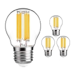 LED FILAMENT Spuldze Visional  E27 (G45) - 6W  /(SILTA balta) / 3000k / Nemirgo / 720lm / NO DIMMABLE