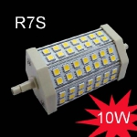 SUPER AKCIJA!!! LED R7S 10W 118mm / 3000K (silti balta) 4751027172961 :: R7S