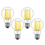 LED FILAMENT  Spuldze Visional  E27 (A60) - 12W  /(SILTA balta) / 3000k / Nemirgo / 1440lm / NO dimmable ::  E27 Filament