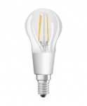 OSRAM LED filament spuldze E14 4.5W / 2700K / 470lm / Silti balts / Dimmable / 4058075808904