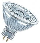 OSRAM LED spuldze MR16 GU5.3 4.6 W / 2700K / Silti balta / 4052899957770 :: G5,3 (MR16 - 220V)
